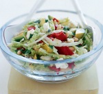 Recipe of the Month Feta Avocado and Red Peppers Salad