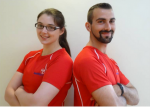 Meet healthpro Personal Trainers Laoibhse and Daniel