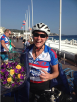 Melanie Completes Paris 2 Nice and Raises over 10000 Euro for the RNLI